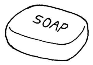 釜炊き鹸化法で作られた石鹸